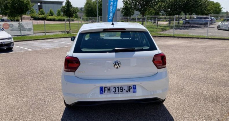 Volkswagen Polo 1.0 80 S&S BVM5 Edition Blanc occasion à Bourgogne - photo n°5
