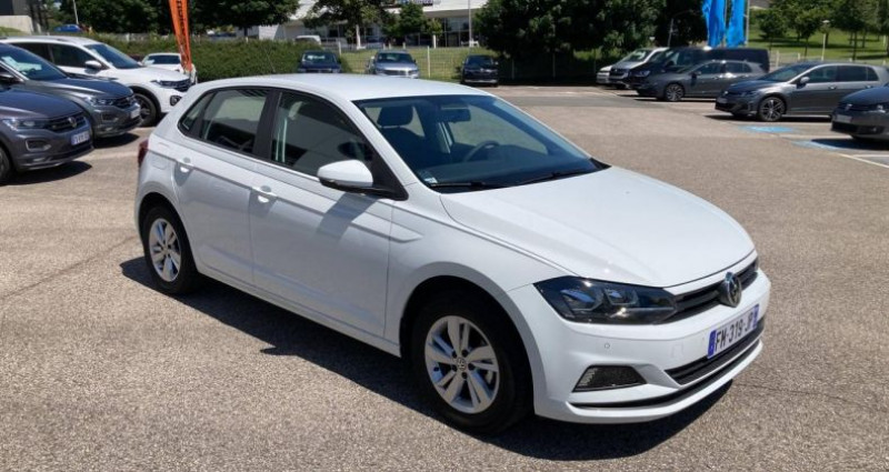 Volkswagen Polo 1.0 80 S&S BVM5 Edition Blanc occasion à Bourgogne