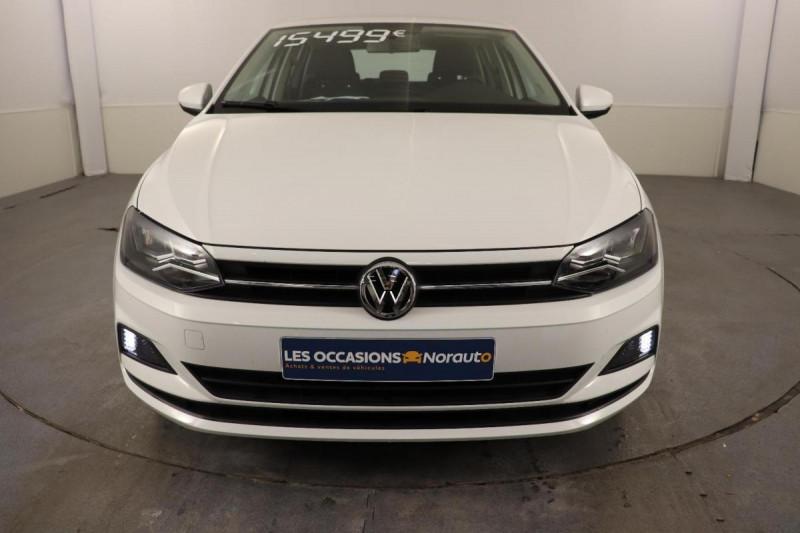 Volkswagen Polo 1.0 80 S&S BVM5 Lounge Blanc occasion à Aubagne - photo n°2