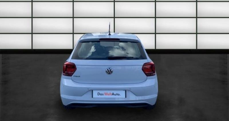 Volkswagen Polo 1.0 80ch Edition Euro6dT Blanc occasion à La Rochelle - photo n°4