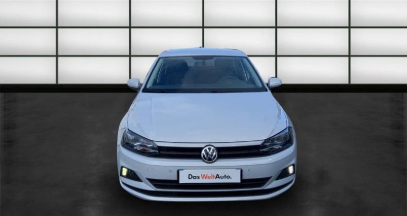 Volkswagen Polo 1.0 80ch Edition Euro6dT Blanc occasion à La Rochelle - photo n°2