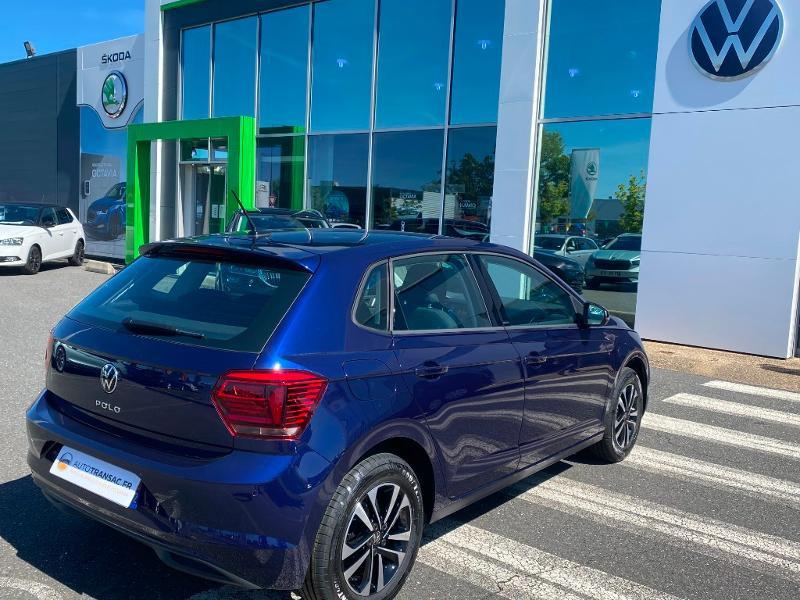 Volkswagen Polo 1.0 80ch United Euro6d-T Bleu occasion à Onet-le-Château - photo n°8
