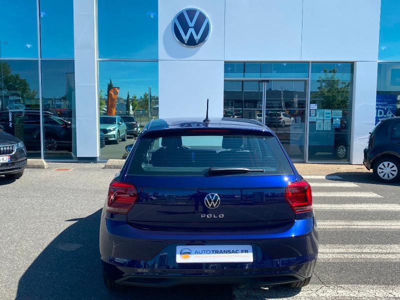 Volkswagen Polo 1.0 80ch United Euro6d-T Bleu occasion à Onet-le-Château - photo n°5