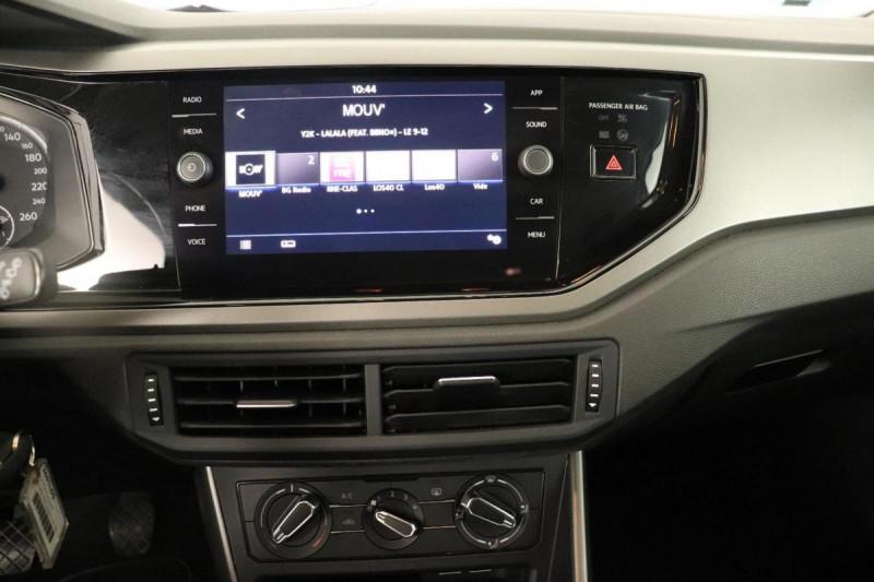 Volkswagen Polo 1.0 80CV EDITION PLUS Blanc occasion à La Garde - photo n°6