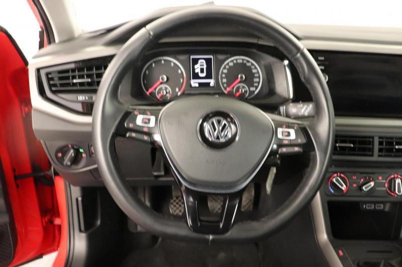 Volkswagen Polo 1.0 80CV EDITION PLUS Rouge occasion à Tourville-la-Rivière - photo n°6