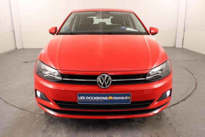 Volkswagen Polo 1.0 80CV EDITION PLUS Rouge occasion à Tourville-la-Rivière - photo n°2