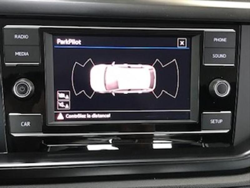 Volkswagen Polo 1.0 MPI 65ch Trendline Euro6d-T Blanc occasion à LESCAR - photo n°8