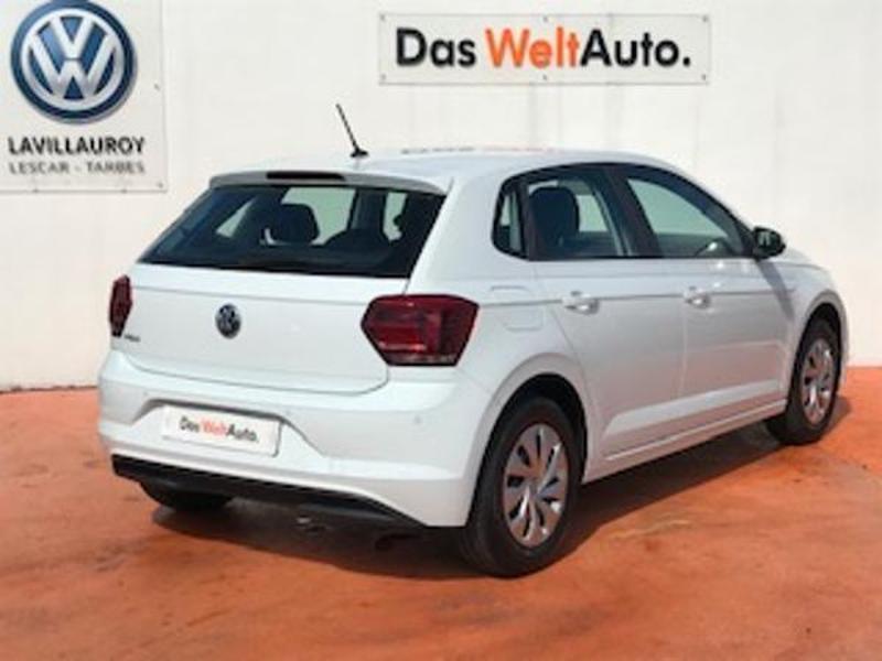 Volkswagen Polo 1.0 MPI 65ch Trendline Euro6d-T Blanc occasion à LESCAR - photo n°3