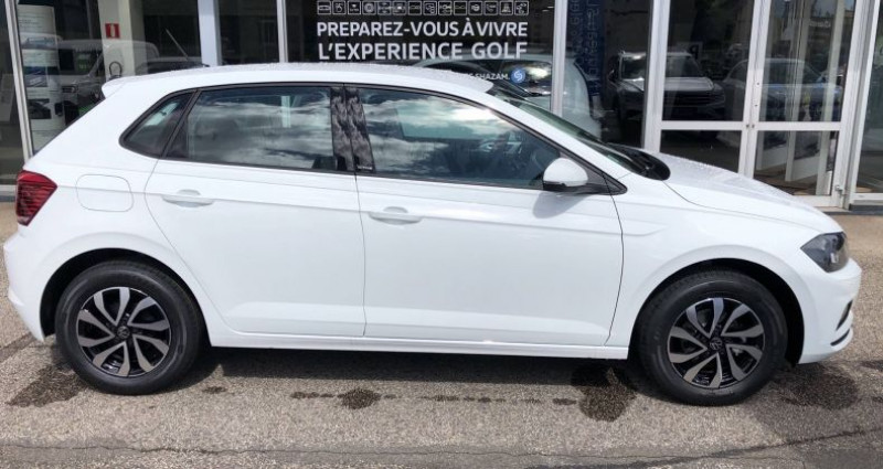 Volkswagen Polo 1.0 TSI 95 S&S BVM5 Active Blanc occasion à Bourgogne - photo n°6