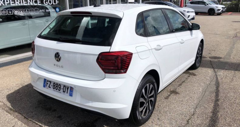 Volkswagen Polo 1.0 TSI 95 S&S BVM5 Active Blanc occasion à Bourgogne - photo n°5