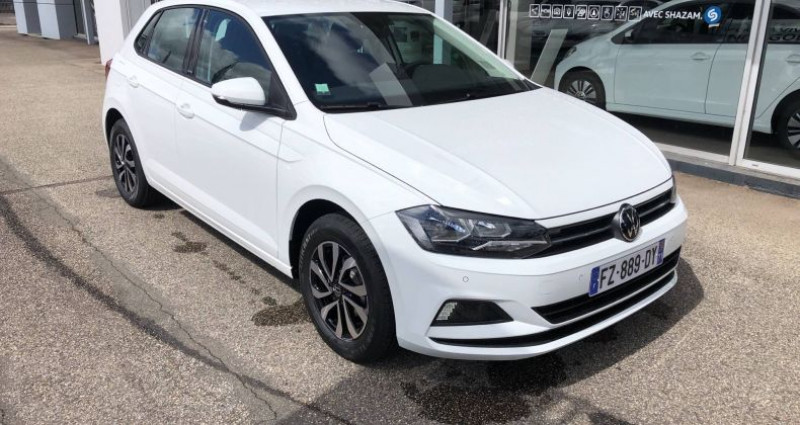Volkswagen Polo 1.0 TSI 95 S&S BVM5 Active Blanc occasion à Bourgogne - photo n°7