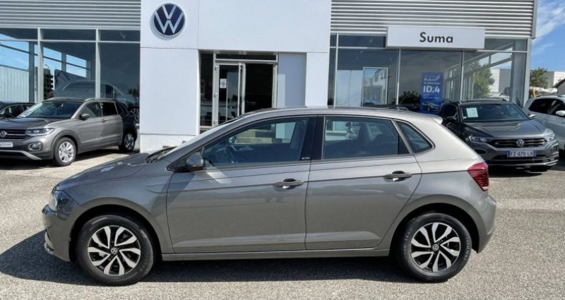 Volkswagen Polo 1.0 TSI 95 S&S BVM5 Active Gris occasion à Bourgogne - photo n°3
