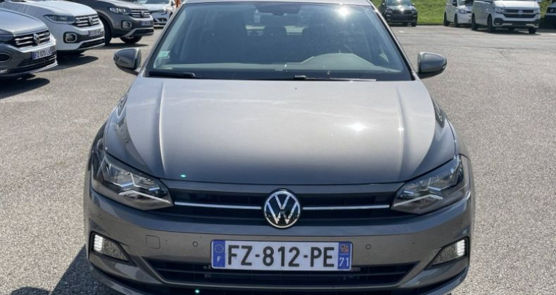 Volkswagen Polo 1.0 TSI 95 S&S BVM5 Active Gris occasion à Bourgogne