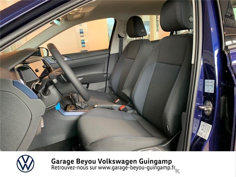 Volkswagen Polo 1.0 TSI 95 S&S DSG7 Bleu occasion à Saint Agathon - photo n°16