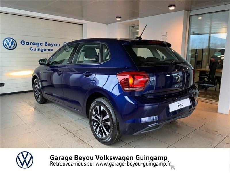 Volkswagen Polo 1.0 TSI 95 S&S DSG7 Bleu occasion à Saint Agathon - photo n°3