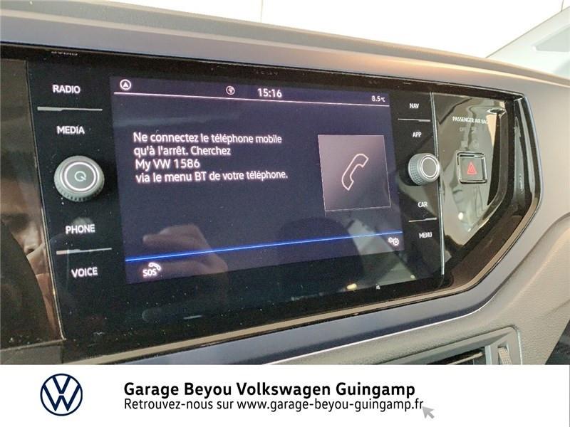 Volkswagen Polo 1.0 TSI 95 S&S DSG7 Bleu occasion à Saint Agathon - photo n°14