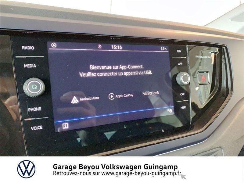 Volkswagen Polo 1.0 TSI 95 S&S DSG7 Bleu occasion à Saint Agathon - photo n°8