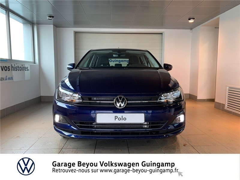 Volkswagen Polo 1.0 TSI 95 S&S DSG7 Bleu occasion à Saint Agathon - photo n°5