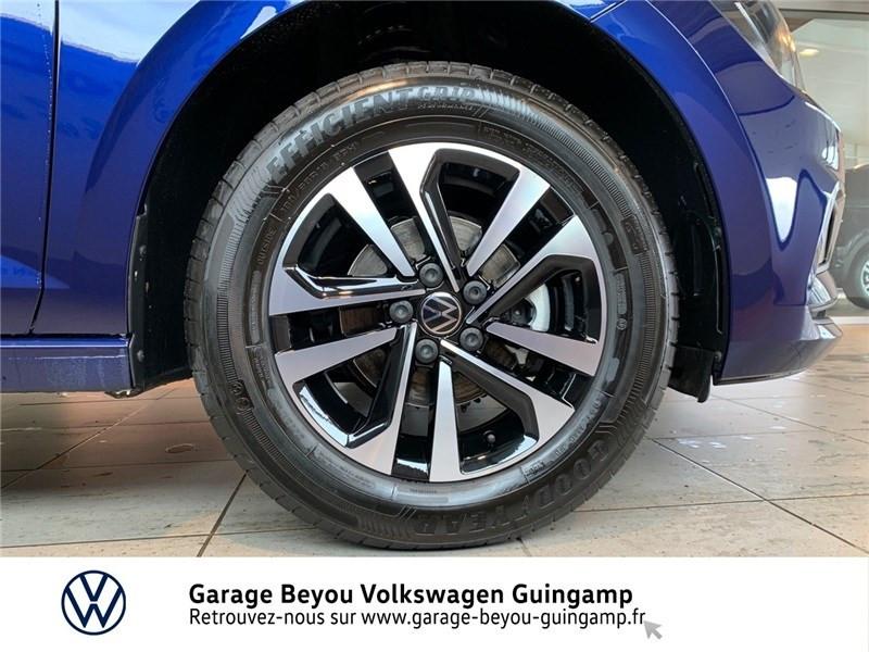 Volkswagen Polo 1.0 TSI 95 S&S DSG7 Bleu occasion à Saint Agathon - photo n°13