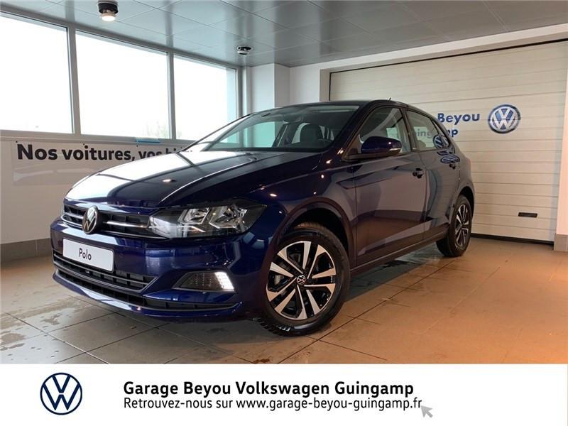 Volkswagen Polo 1.0 TSI 95 S&S DSG7 Bleu occasion à Saint Agathon - photo n°2