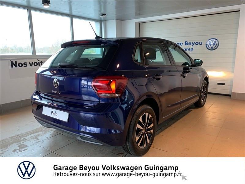 Volkswagen Polo 1.0 TSI 95 S&S DSG7 Bleu occasion à Saint Agathon - photo n°4