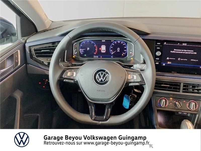Volkswagen Polo 1.0 TSI 95 S&S DSG7 Bleu occasion à Saint Agathon - photo n°7