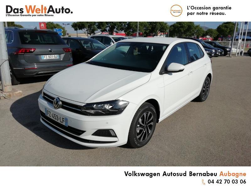 Volkswagen Polo 1.0 TSI 95ch Active DSG7 Euro6d-T Blanc occasion à Aubagne