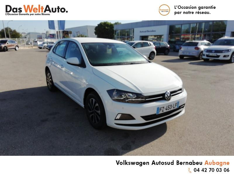 Volkswagen Polo 1.0 TSI 95ch Active DSG7 Euro6d-T Blanc occasion à Aubagne - photo n°2