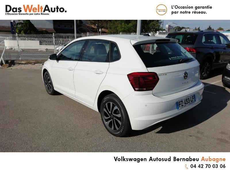 Volkswagen Polo 1.0 TSI 95ch Active DSG7 Euro6d-T Blanc occasion à Aubagne - photo n°3