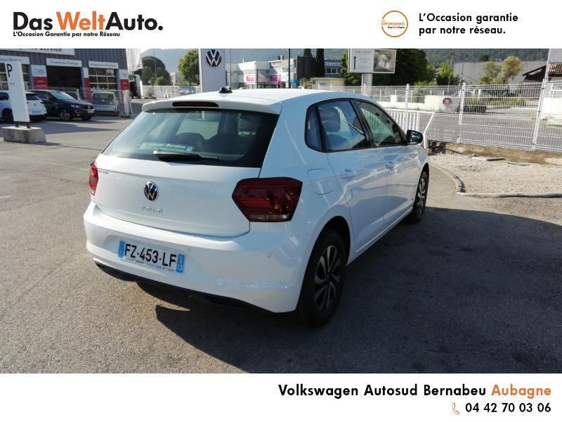 Volkswagen Polo 1.0 TSI 95ch Active DSG7 Euro6d-T Blanc occasion à Aubagne - photo n°4