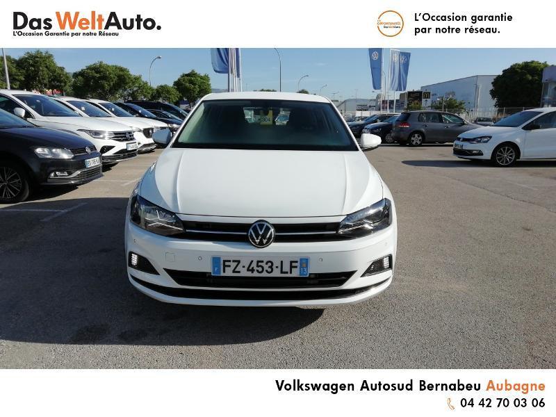 Volkswagen Polo 1.0 TSI 95ch Active DSG7 Euro6d-T Blanc occasion à Aubagne - photo n°5