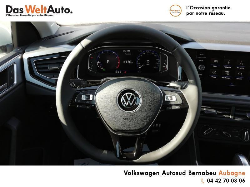 Volkswagen Polo 1.0 TSI 95ch Active DSG7 Euro6d-T Blanc occasion à Aubagne - photo n°7