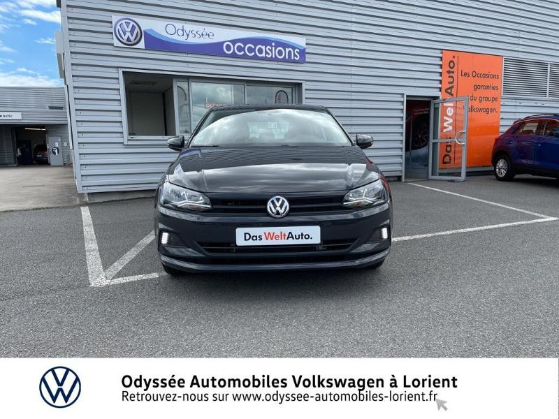 Volkswagen Polo 1.0 TSI 95ch BlueMotion 5p Gris occasion à Lanester - photo n°5