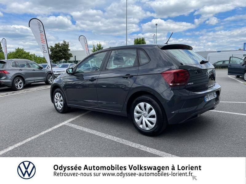 Volkswagen Polo 1.0 TSI 95ch BlueMotion 5p Gris occasion à Lanester - photo n°3