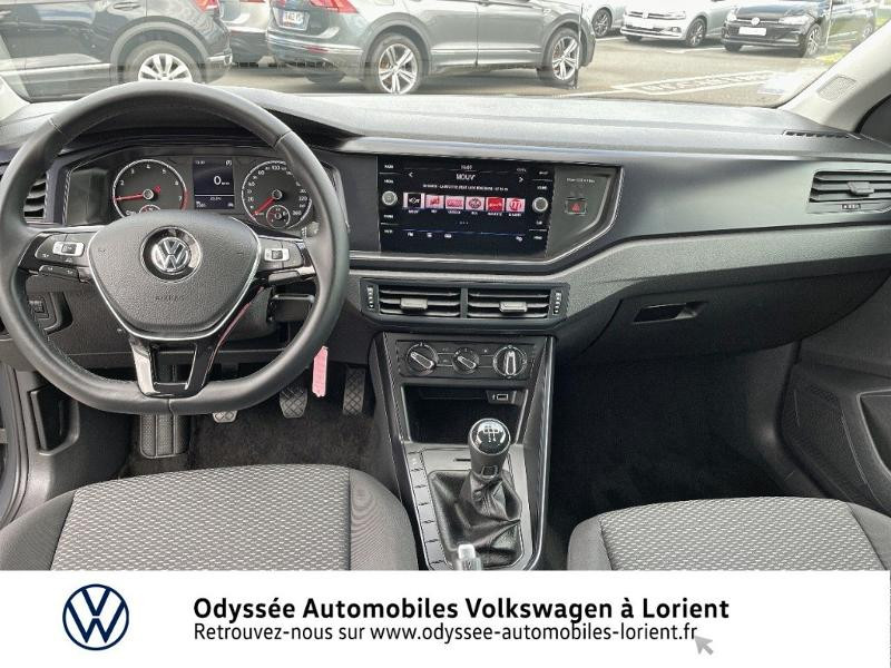 Volkswagen Polo 1.0 TSI 95ch BlueMotion 5p Gris occasion à Lanester - photo n°6