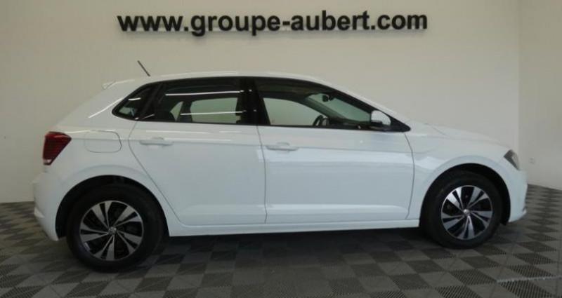Volkswagen Polo 1.0 TSI 95ch Confortline DSG7 Euro6d-T Blanc occasion à TOURLAVILLE - photo n°3