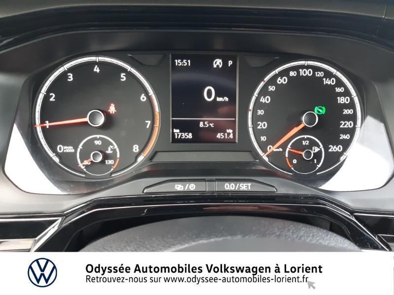 Volkswagen Polo 1.0 TSI 95ch Confortline DSG7 Blanc occasion à Lanester - photo n°9
