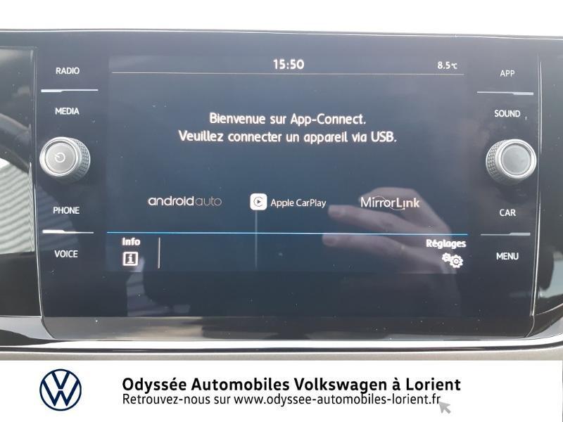 Volkswagen Polo 1.0 TSI 95ch Confortline DSG7 Blanc occasion à Lanester - photo n°8