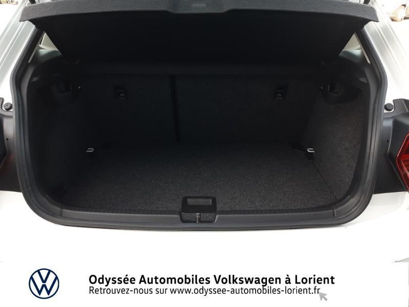 Volkswagen Polo 1.0 TSI 95ch Confortline DSG7 Blanc occasion à Lanester - photo n°12