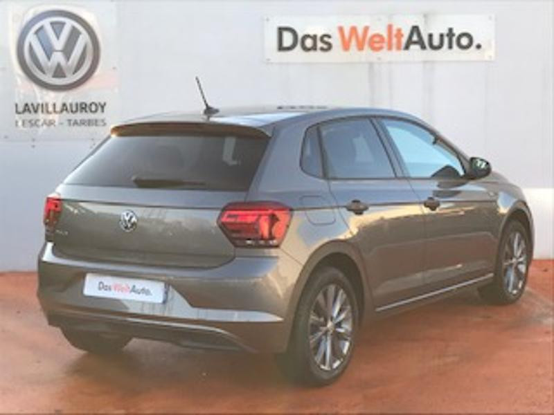 Volkswagen Polo 1.0 TSI 95ch Copper Line Euro6d-T Gris occasion à TARBES  - photo n°3