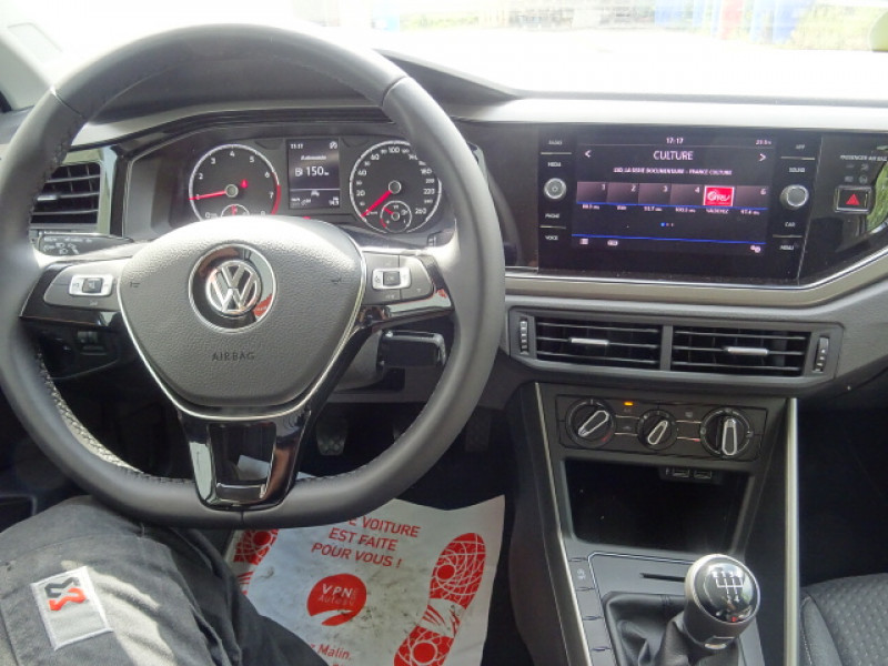 Volkswagen Polo 1.0 TSI 95CH LOUNGE + OPTIONS Gris occasion à Mérignac - photo n°14