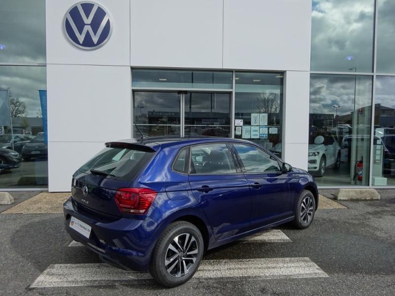Volkswagen Polo 1.0 TSI 95ch United DSG7 Euro6d-T Bleu occasion à Onet-le-Château - photo n°3