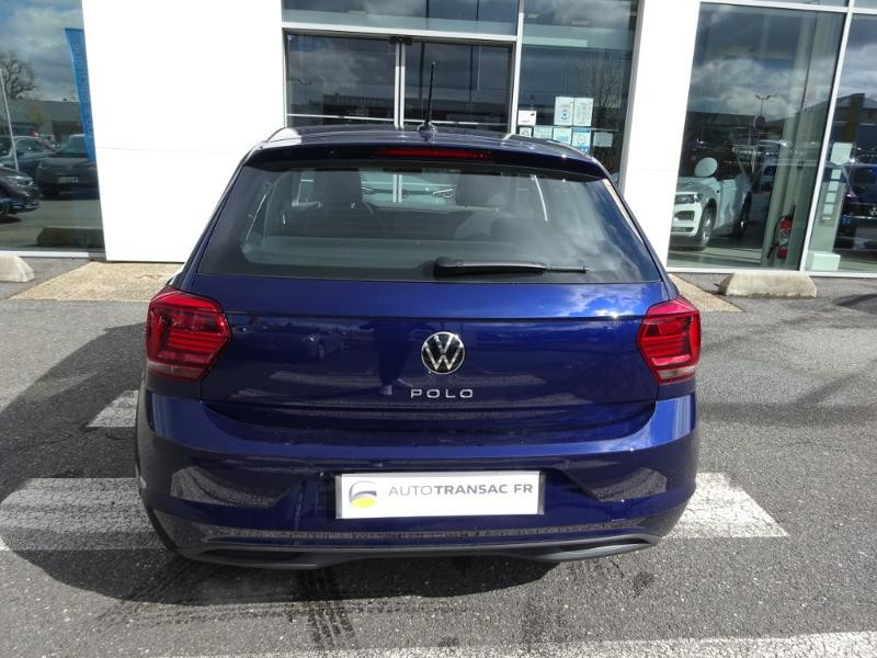Volkswagen Polo 1.0 TSI 95ch United DSG7 Euro6d-T Bleu occasion à Onet-le-Château - photo n°4