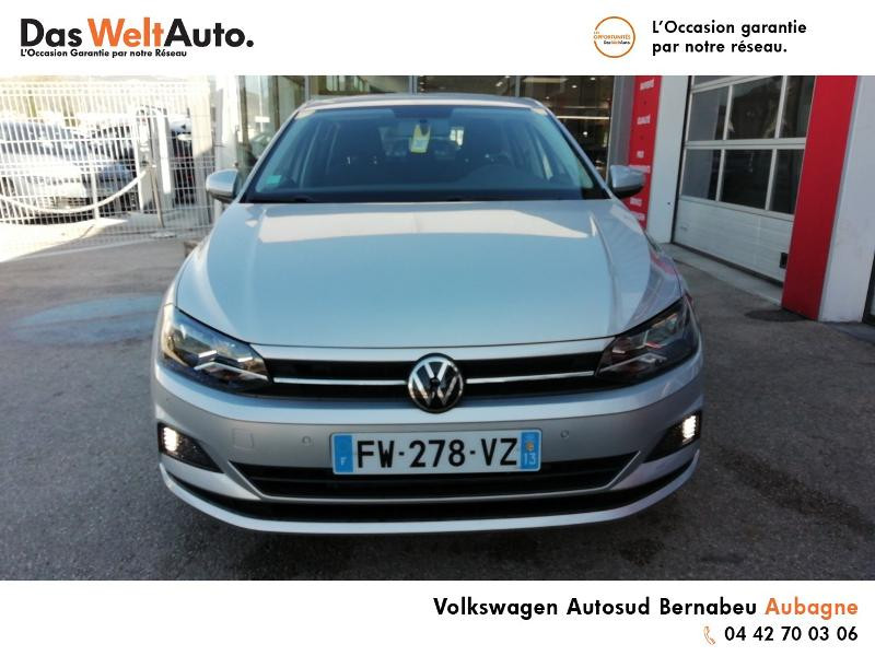 Volkswagen Polo 1.0 TSI 95ch United Euro6d-T Argent occasion à AUBAGNE - photo n°5