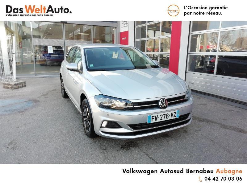 Volkswagen Polo 1.0 TSI 95ch United Euro6d-T Argent occasion à AUBAGNE