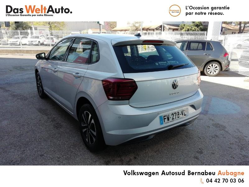Volkswagen Polo 1.0 TSI 95ch United Euro6d-T Argent occasion à AUBAGNE - photo n°3