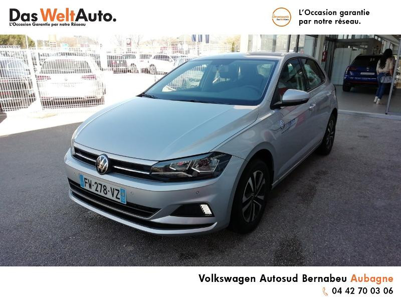 Volkswagen Polo 1.0 TSI 95ch United Euro6d-T Argent occasion à AUBAGNE - photo n°2