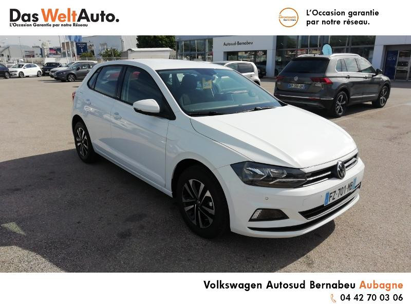 Volkswagen Polo 1.0 TSI 95ch United Euro6d-T Blanc occasion à Aubagne - photo n°2