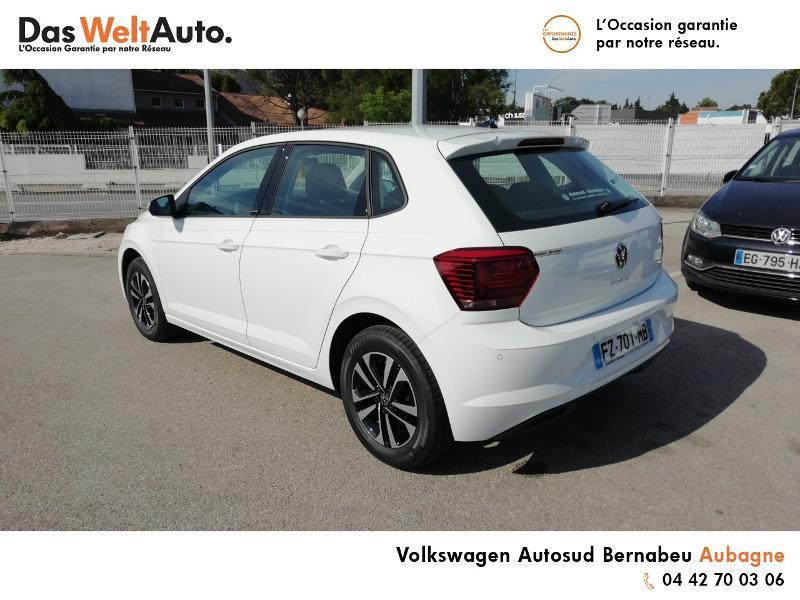 Volkswagen Polo 1.0 TSI 95ch United Euro6d-T Blanc occasion à Aubagne - photo n°3