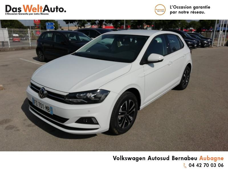 Volkswagen Polo 1.0 TSI 95ch United Euro6d-T Blanc occasion à Aubagne